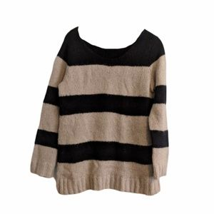 Gap Pullover Striped Knit Sweater